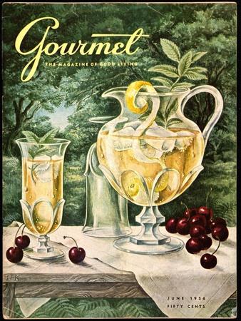 Gourmet Cover - June 1956