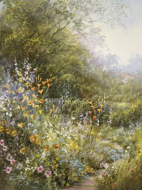Flower Path by Hilary Scoffield