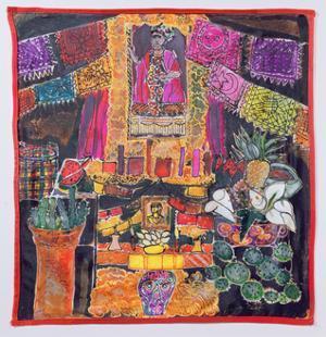 Frida Kahlo (1910-54) Shrine, 2005 by Hilary Simon