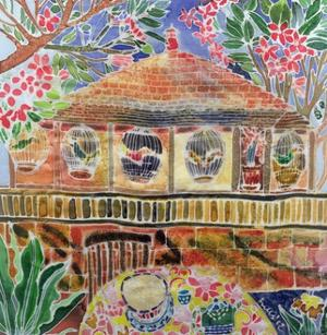 Lotus Cafe, Ubud, Bali, 2002 by Hilary Simon