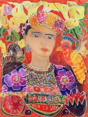 Respects to Frida Kahlo, 2002 by Hilary Simon