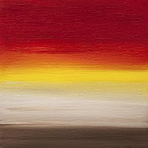 Sunsets - Canvas 1 by Hilary Winfield