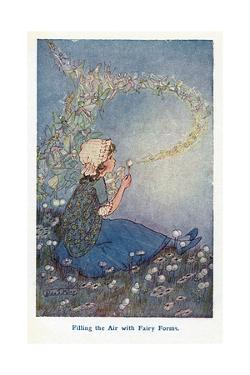 Filling the Air with Fairy Forms by Hilda T. Miller