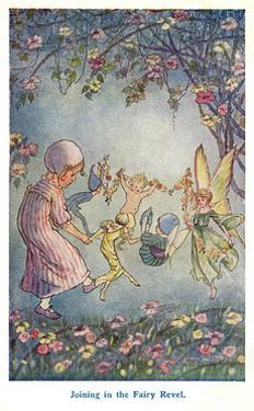 Joining in the Fairy Revel by Hilda T. Miller