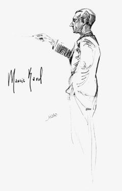 Maurice Joseph Ravel by Hilda Wiener
