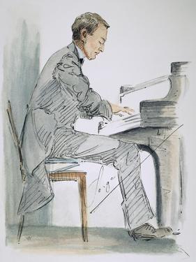 Sergei Rachmaninoff by Hilda Wiener
