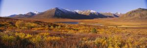 Hills on a Landscape, Yukon, Canada