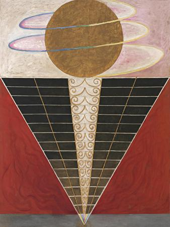Altarpieces, Group X, No.3, 1915 by Hilma af Klint