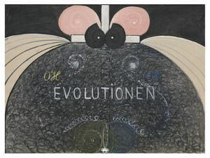 Evolution, No.7, Group Vi, 1908 by Hilma af Klint