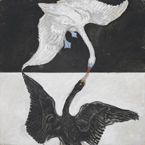 The Swan, No.1, Group IX, 1915 by Hilma af Klint