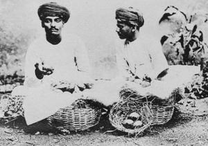 Hindu Fruit Sellers, India, 20th Century