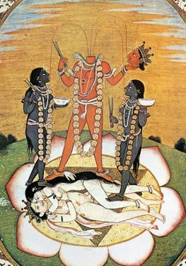 Hindu Goddess: Kali