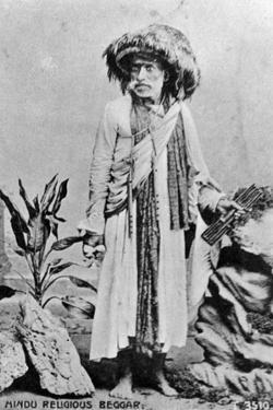 Hindu Religious Beggar, India, 20th Century