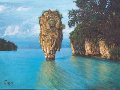 Pang-Nga Bay National Park In Thailand by hinnamsaisuy