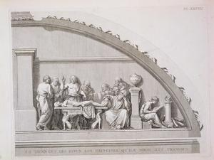 "Hippocrates Teaching, from ""A Description of the School of Surgery in Paris,"" Published 1780"