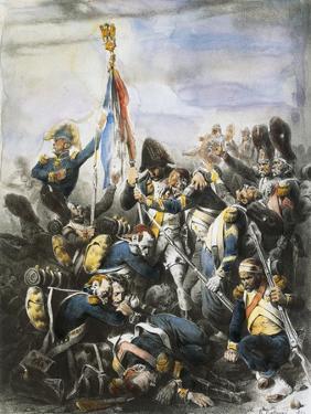 General Cambronne at Waterloo, June 18, 1815 by Hippolyte Bellange