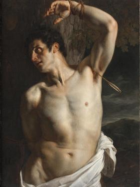 St. Sebastian by Hippolyte Delaroche