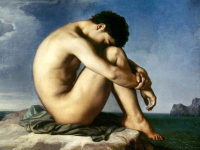 Flandrin: Nude Youth, 1837