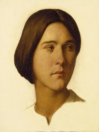 Head of a Young Woman Looking to Her Left, 19th Century