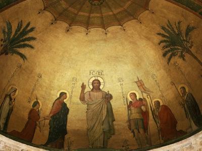 Jesus Christ and the Virgin Mary with Saints Clothilde, Blandina, Michael the Archangel, Pothinus