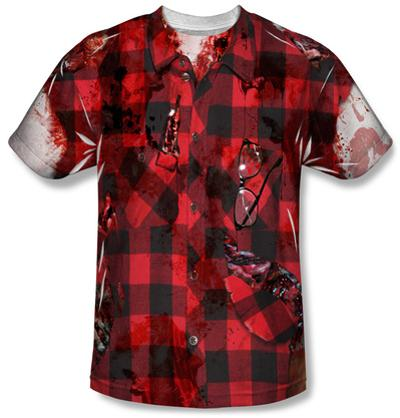Hipster Zombie Costume Tee