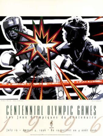 Olympic Boxing, c.1996 Atlanta by Hiro Yamagata