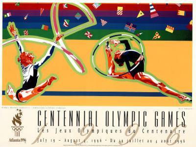 Olympic Rhythmic Gymnastics Atlanta, c.1996 by Hiro Yamagata