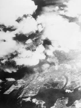 Hiroshima Mushroom Clouds