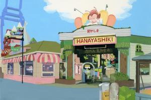 "Amusement park in Japan ""Hana Yashiki"" by Hiroyuki Izutsu"
