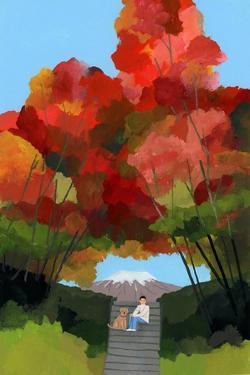 Arch of Autumn Leaves by Hiroyuki Izutsu