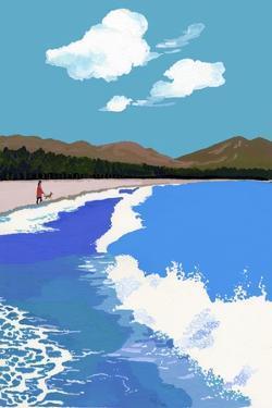 Beach and Pine Forest by Hiroyuki Izutsu