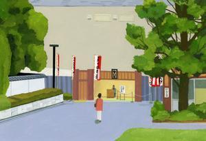 Kabuki Theater by Hiroyuki Izutsu