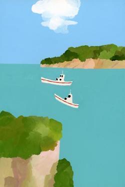 Peaceful sea by Hiroyuki Izutsu