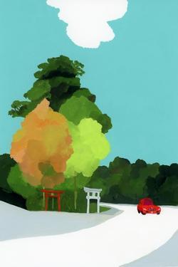 Shrines by Hiroyuki Izutsu