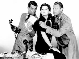 His Girl Friday, Cary Grant, Rosalind Russell, Ralph Bellamy, 1940