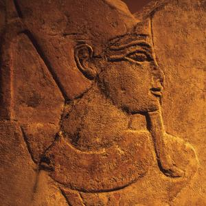 Ancient Egyptian Carving, Temple of Luxor, Egypt by Hisham Ibrahim