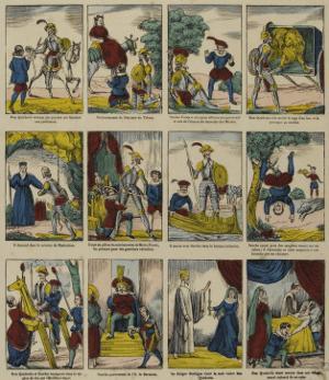 Histoire de don Quichotte