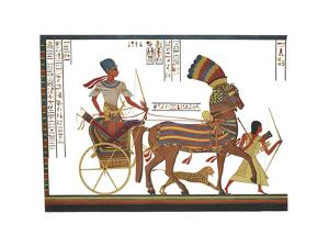 Egyptian Monuments - Rhamsès III by Historic Collection