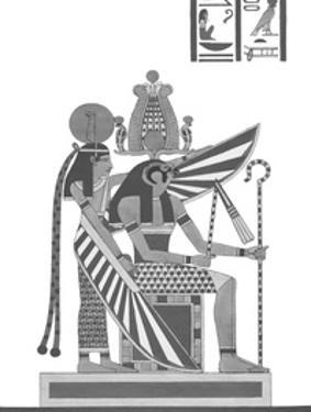 Egyptian Pantheon - Atmou & Otma by Historic Collection