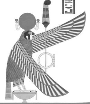 Egyptian Pantheon - Hermes Trismegistu by Historic Collection