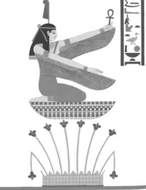 Egyptian Pantheon - Juno by Historic Collection