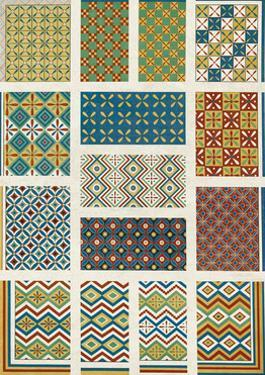 Egyptian Treasures - Patterns by Historic Collection
