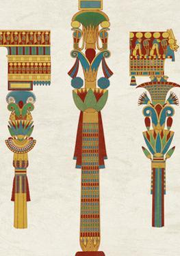 Egyptian Treasures - Pillar by Historic Collection