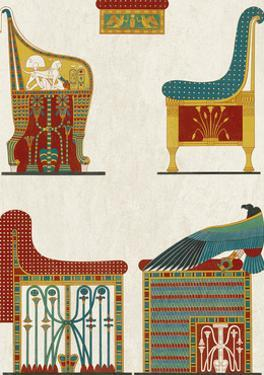 Egyptian Treasures - Throne by Historic Collection