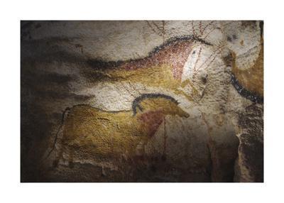 Lascaux Caves - chevaux de course