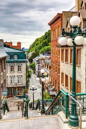 Historic District Old Quebec