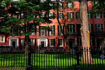 Historic homes of Beacon Hill, Boston, MA