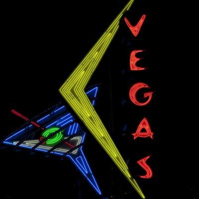 Historic Neon Sign on Freemont Street in Downtown Las Vegas, Nevada, 2007