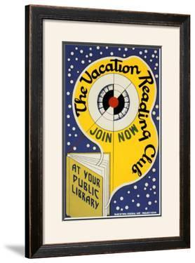 Historic Reading Posters - Vacation Reading Club