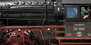 Historic Steam Engine 03 1010, Baden-Wurttemberg, Germany